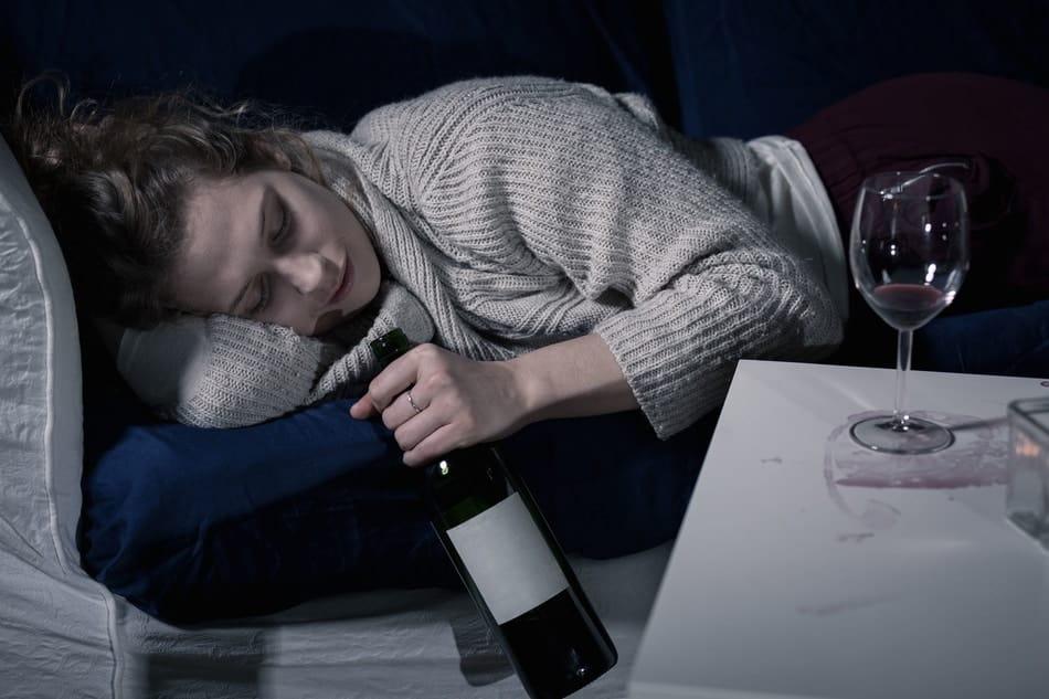 Wine and sleep don't mix